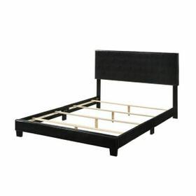 ACME Lien Queen Bed - 25730Q - Black PU