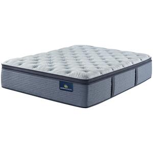 SertaPerfect Sleeper - Renewed Sleep - Plush - Pillow Top - Cal King