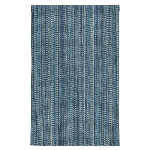 "Worthington Lake Blue - Vertical Stripe Rectangle - 24"" x 36"""