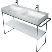 View Product - Durasquare Metal Console Floorstanding Chrome