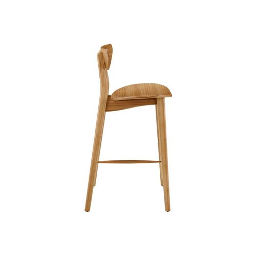 """Cosmos 26"""" Counter Height Stool, Caramelized, (Set of 2)"""