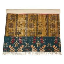 Product Image - 4' x 6' Woven Cotton Printed Rug, Multi Color