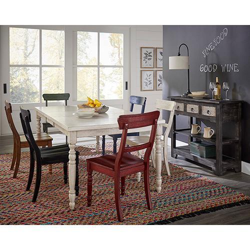 Dining Chair- 2/CTN- Antique White - Antique White Finish
