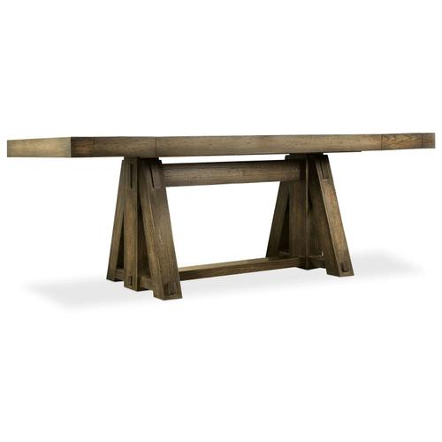 Dining Room Crafted Friendship Table with 2-10in leaves