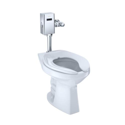 Commercial Ultra-High Efficiency Toilet, 1.0 GPF, ADA, Elongated Bowl (Reclaimed Water Option) - Cotton