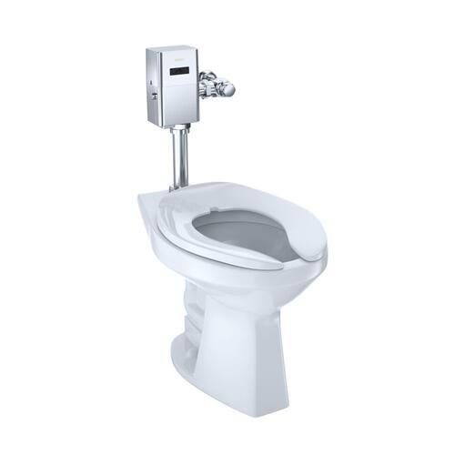 Commercial Ultra-High Efficiency Toilet, 1.0 GPF, ADA, Elongated Bowl - CEFIONTECT (Reclaimed Water Option) - Cotton