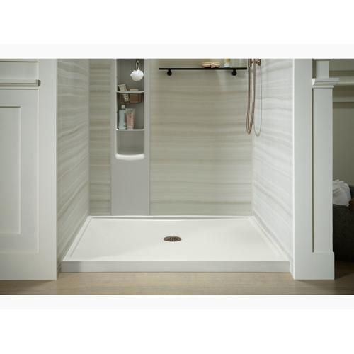 """Kohler - White 48"""" X 34"""" Single-threshold Shower Base With Center Drain"""