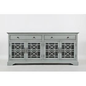 "Craftsman 70"" Media Unit - Earl Grey"