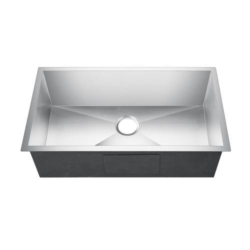 "Ellison Single Bowl Stainless Kitchen Sink - 32"" x 19"""