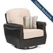 Breckenridge Swivel Rocker w/ Natural Tan Cushion Product Image