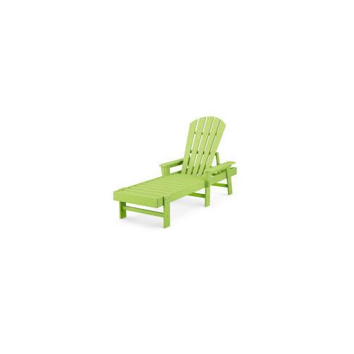 Polywood Furnishings - South Beach Chaise in Lime