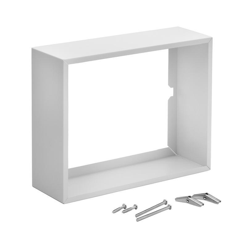 Broan® Surface Mount Kit for Broan® Comfort-Flo Wall Heaters, White Enameled Steel