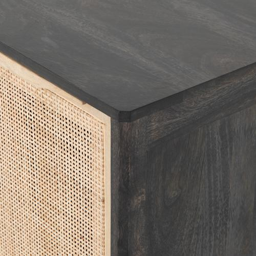 Right Configuration Black Wash Finish Sydney Nightstand
