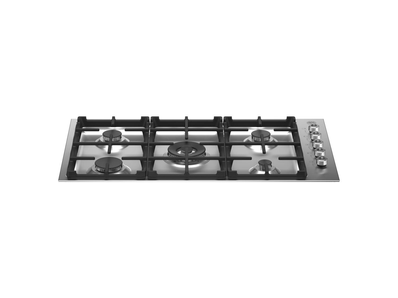 Bertazzoni36 Drop-In Gas Cooktop 5 Burners Stainless Steel