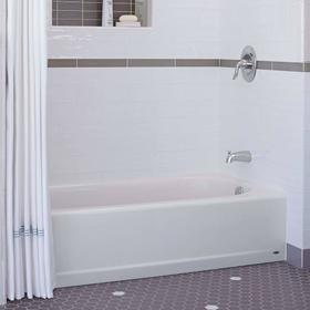 Princeton 60x30 Inch Integral Apron Bathtub - Above Floor Rough-in  American Standard - Arctic White