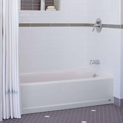 Princeton 60x30 Inch Integral Apron Bathtub - Above Floor Rough-in  American Standard - Arctic White