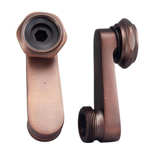 Swivel Arm Connectors for Deck Mount Faucet - Oil Rubbed Bronze