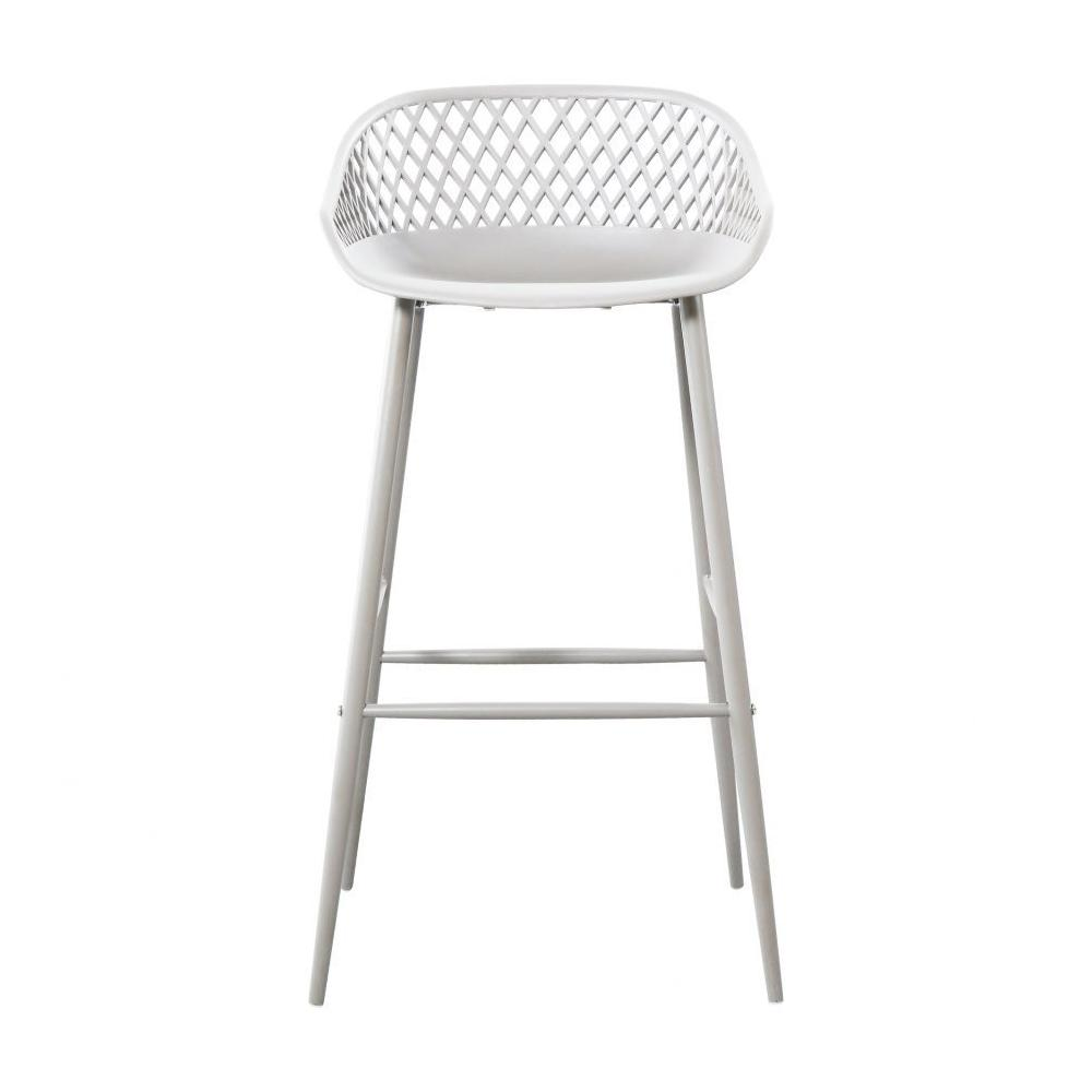 Piazza Outdoor Barstool White-m2