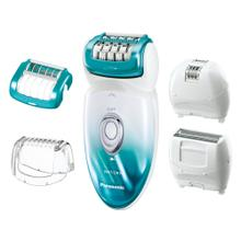 See Details - Wet/Dry Shaver and Epilator with Five Attachments and Travel Pouch ES-ED70-G