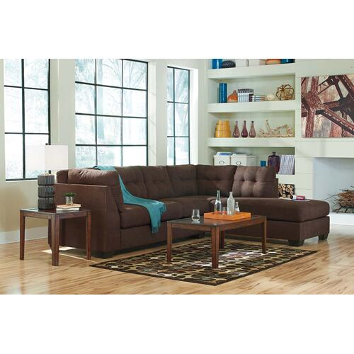 Maier Walnut Sectional Right