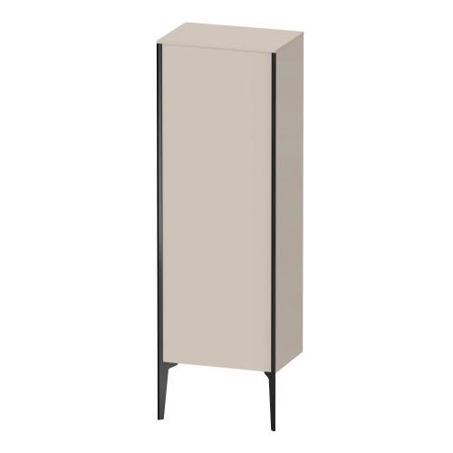Semi-tall Cabinet Floorstanding, Taupe Matte (decor)
