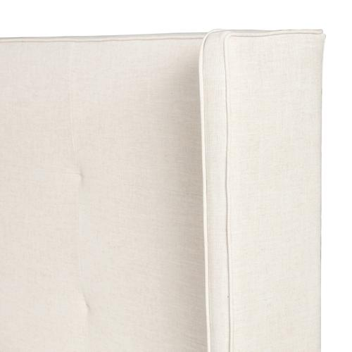 Four Hands - King Size Cambric Ivory Cover Madison Bed