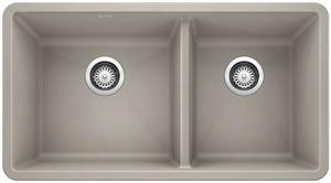 Precis 1-3/4 Bowl - Concrete Gray Product Image