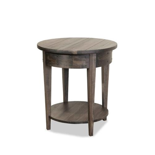 Distillery Round Lamp Table