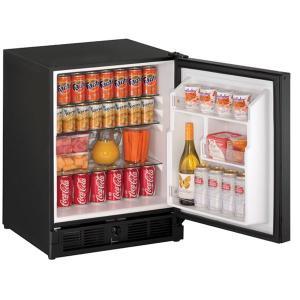 "U-Line21"" Refrigerator With Black Solid Finish (115 V/60 Hz Volts /60 Hz Hz)"
