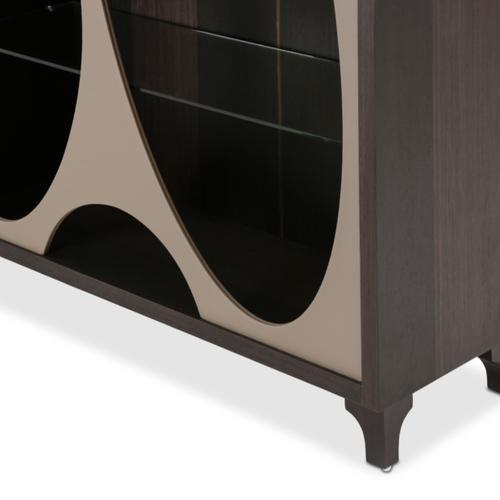 Amini - Curio Side Cabinet (must Be Purchased With Curio Center Cabinet)
