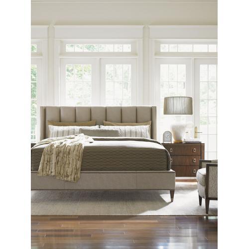Barrington Upholstered Platform Bed King