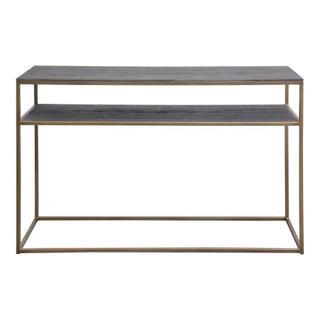 Studio Sofa Table Brass