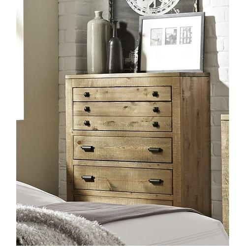 Chest - Distressed Light Pine Finish