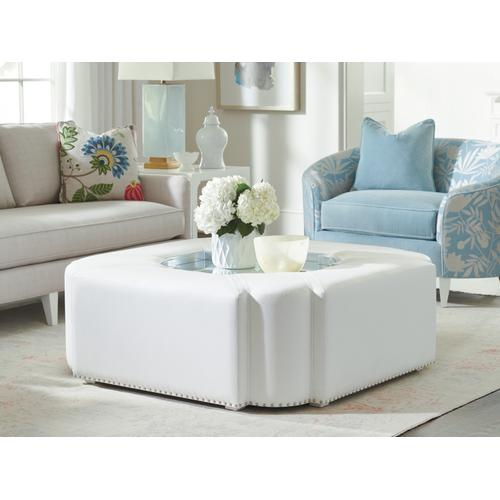 Clarendon Upholstered Cocktail Table