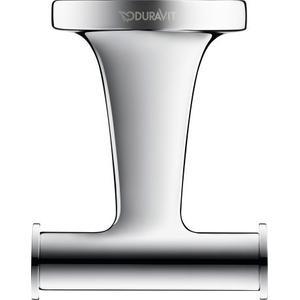 Duravit - Double Towel Hook, Chrome