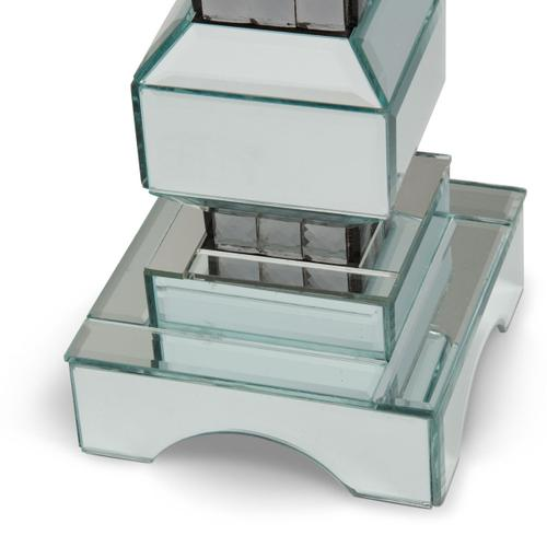4-tier Mirrored Candle Holder (2/pack) 156