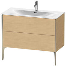 View Product - Vanity Unit Floorstanding, Natural Oak