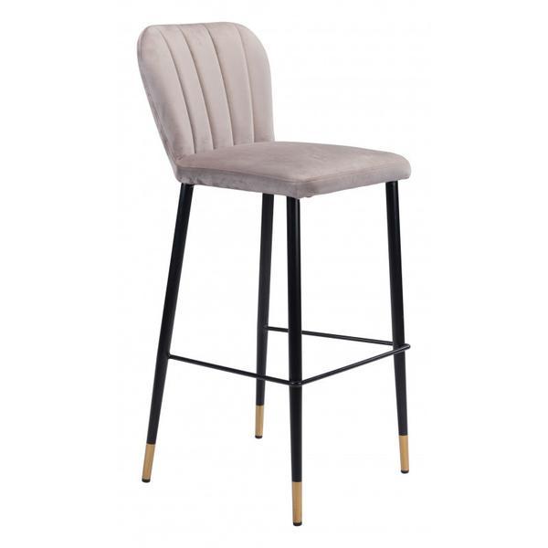 Manchester Bar Chair Gray