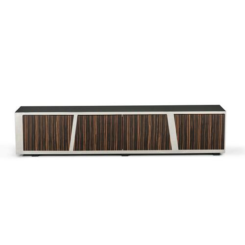 VIG Furniture - Modrest Sherman Modern Ebony TV Stand