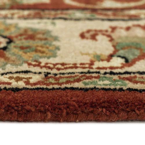 "Gallery - Eloquent Garden Arabian Red - Rectangle - 2'6"" x 3'6"""