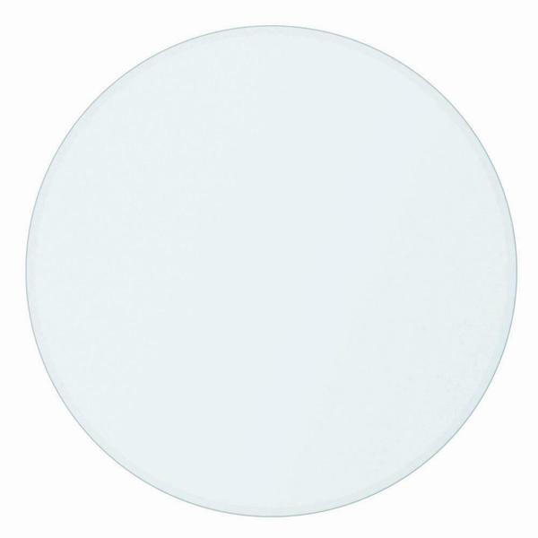 """See Details - Paxton 48"""" Round Glass Dining Table Top"""
