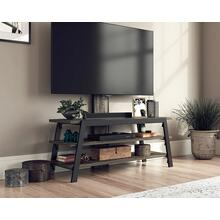 Industrial 2-Shelf TV Stand with Mount