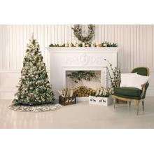 "Home for the Holiday Vv920 Gold 50"" Round Holiday Accessories"