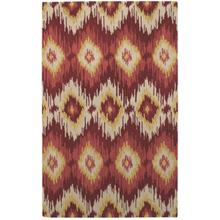 Pow Wow Persimmon Hand Tufted Rugs