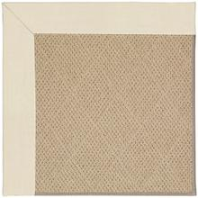 "Creative Concepts-Cane Wicker Canvas Sand - Rectangle - 24"" x 36"""