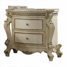 ACME Picardy Nightstand - 26883 - Antique Pearl