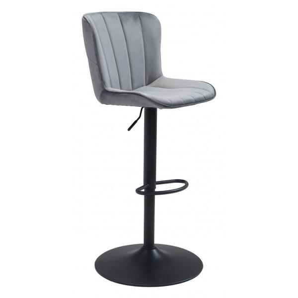 See Details - Tarley Bar Chair Gray
