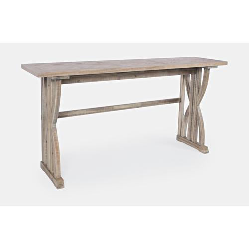 Fairview Ash Sofa Counter Dining 4pc Set