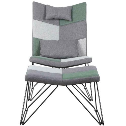 Coaster - Accent Chair With Ottoman
