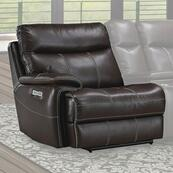 DYLAN - MAHOGANY Power Left Arm Facing Recliner
